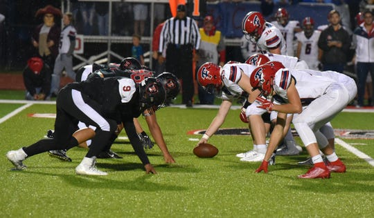 Livonia Churchill and Franklin, right, go head-to-head on Sept. 27, 2019.