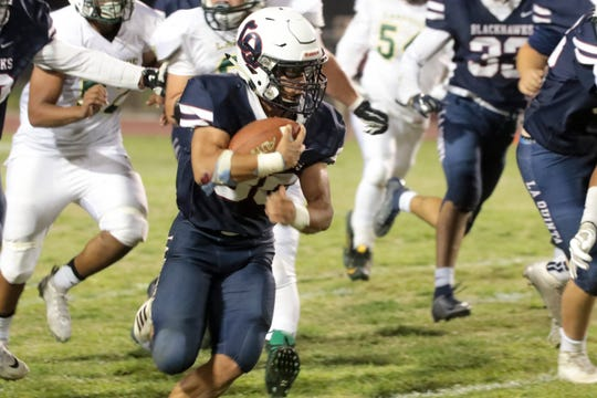La Quinta hosts Lakeside on Friday, September 27, 2019 in La Quinta, Calif. for its homecoming game.