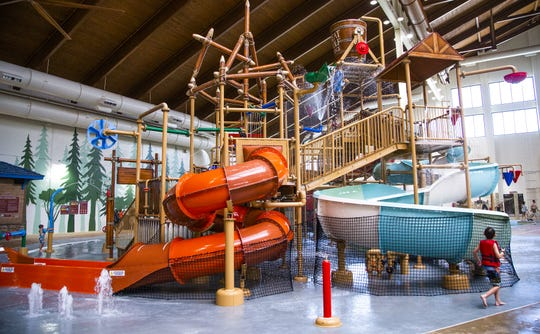 Inside the Great Wolf Lodge water park in Scottsdale, Arizona. The company is considering building a new location in Jackson off exit 85.