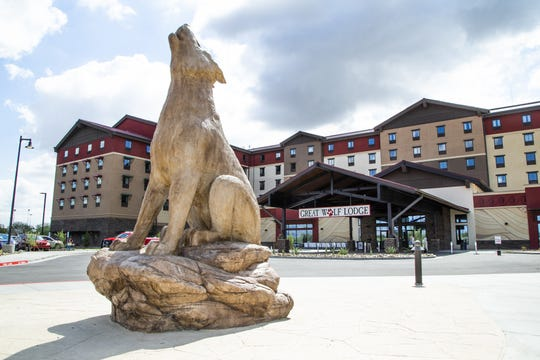 The Great Wolf Lodge opened for business in Scottsdale, Friday, Sept. 27, 2019. It is the 18th Great Wolf Lodge indoor water park resort in North America and its first location in the Southwest.  It is also the first indoor water park resort in Arizona.