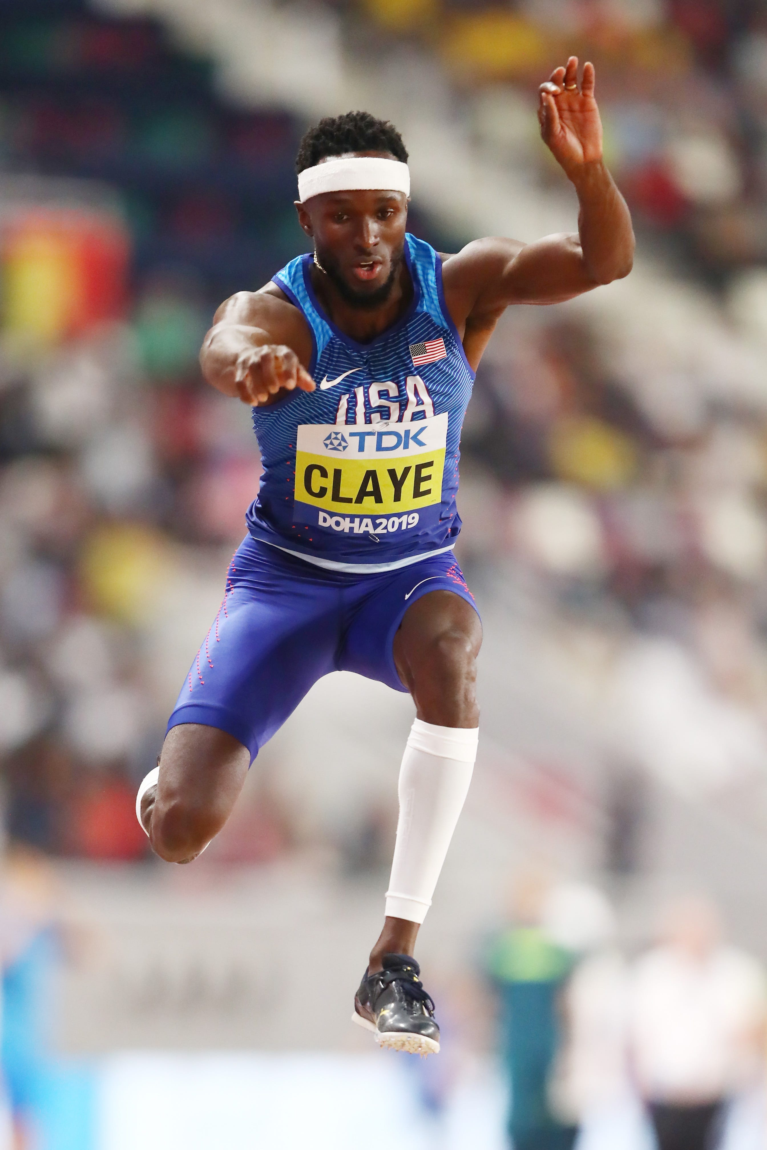 Triple jumper Will Claye reminds fellow Olympians 'Dreams Don't Die'