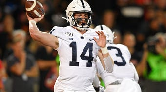 The Penn State Nittany Lion quarterback tore up Maryland in his fourth college start ... which brings big possibilities to this offense.