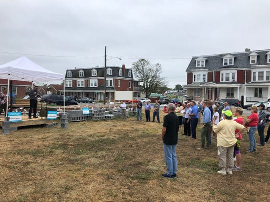 York Habitat for Humanity and other organizations have started rebuilding homes at the site of the Chestnut Street fire.
