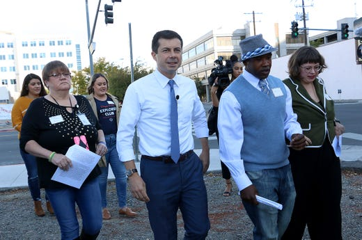 Pete Buttigieg looks to expand massive fundraising advantage in Palm Springs