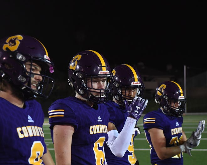 The Salinas Cowboys have a third consecutive PCAL — Gabilan title on offer Friday night against the San Benito Haybalers.