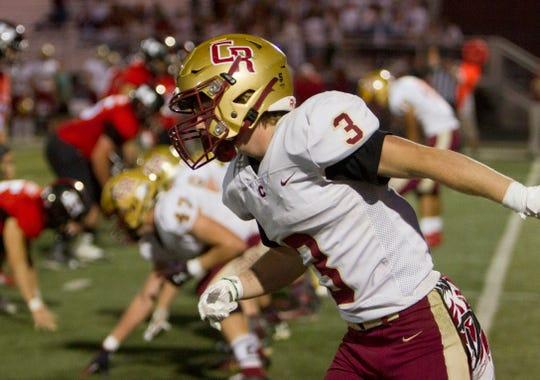 Cedar High School football defeats Hurricane High 35-20 Friday, Sept. 27, 2019.