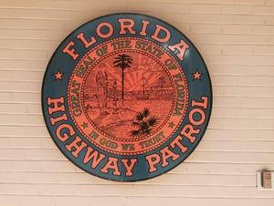 The Florida Highway Patrol logo.
