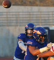 Westlake High quarterback Marco Siderman has passed for 1,534 yards and nine touchdowns while rushing for 64 yards and eight TDs this season.