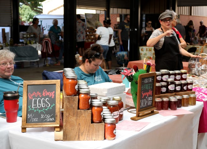 The Wichita Falls Farmers Market hosted its Fall Wine Festival Saturday, Sept. 28, 2019.