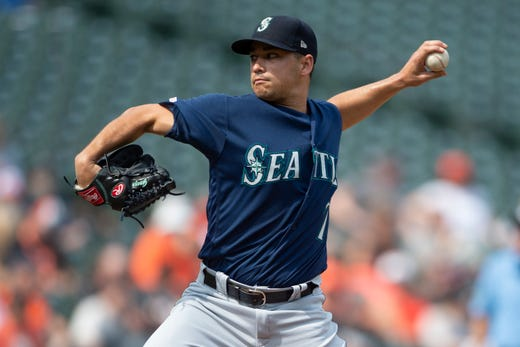 Mariners: LHP Marco Gonzales