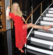 Christie Brinkley has been out of dancing commission after her injury.