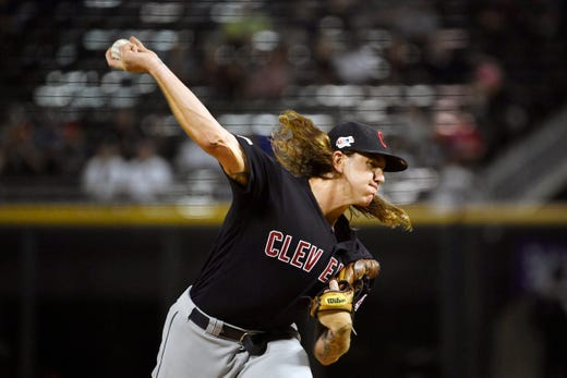 Indians: RHP Mike Clevinger