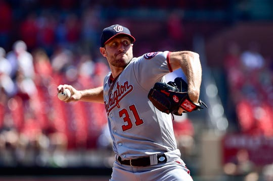 Max Scherzer will start the National League wild-card game for the Nationals.
