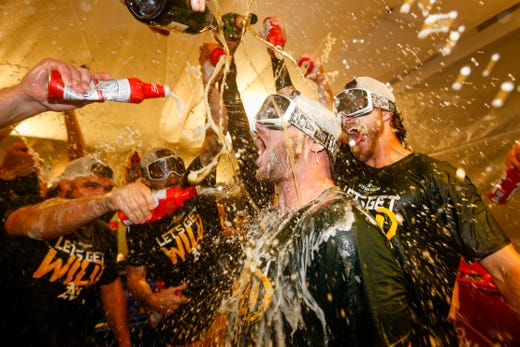Athletics will play the Tampa Bay Rays in the wild card race.