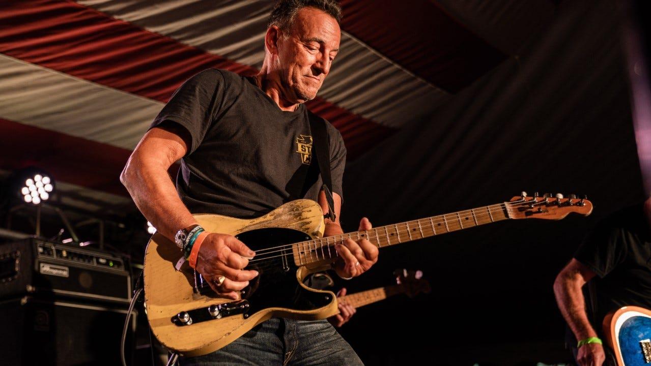 Biden inauguration: Bruce Springsteen joins 'Celebrating ...