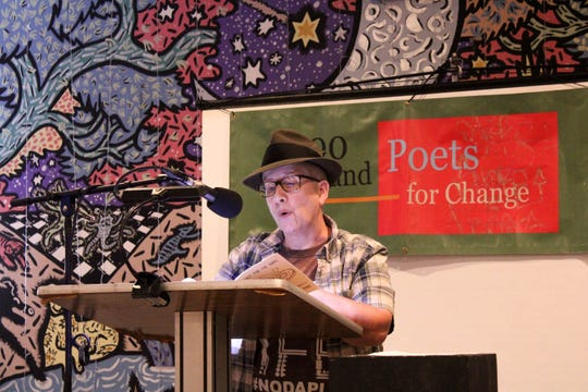 Performers at 100 Thousand Poets for Change event hosted by The Bark on Saturday September 28.
