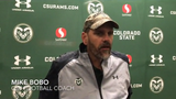 Mike Bobo says his Colorado State football team is 'frustrated' by its mounting losses but still getting better and working hard to get back on track