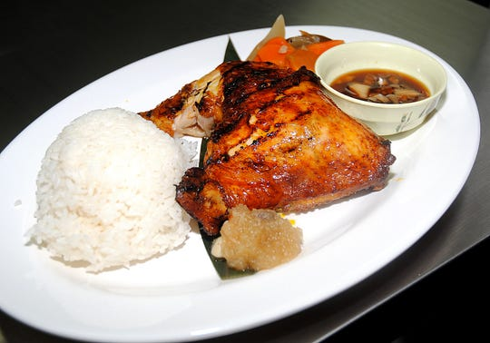 A plate of Chicken Inasal