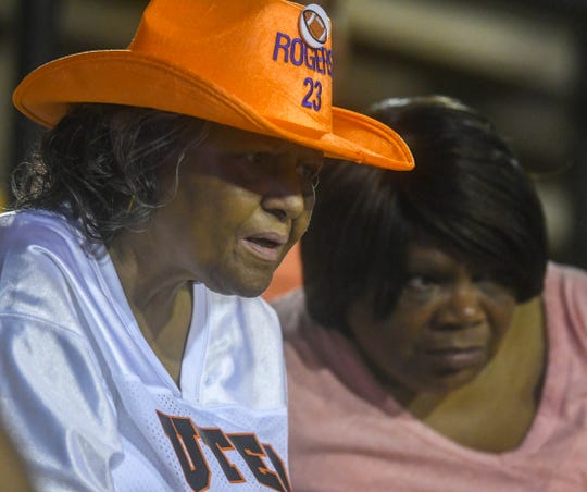 UTEP Miners fans watch the game against Southern Miss Sept. 28, 2019.