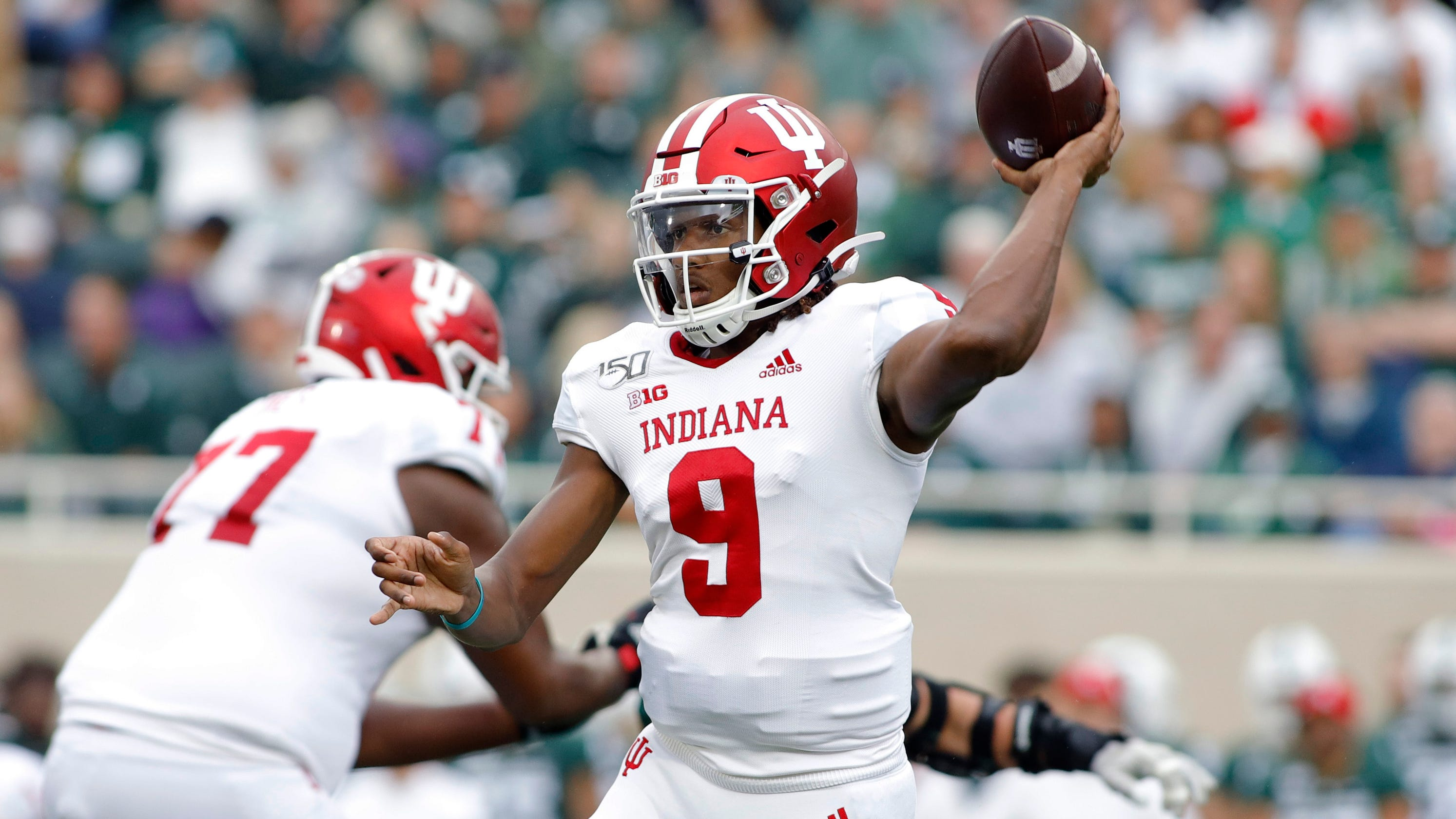 Iu Football Quarterback Michael Penix Shows Development