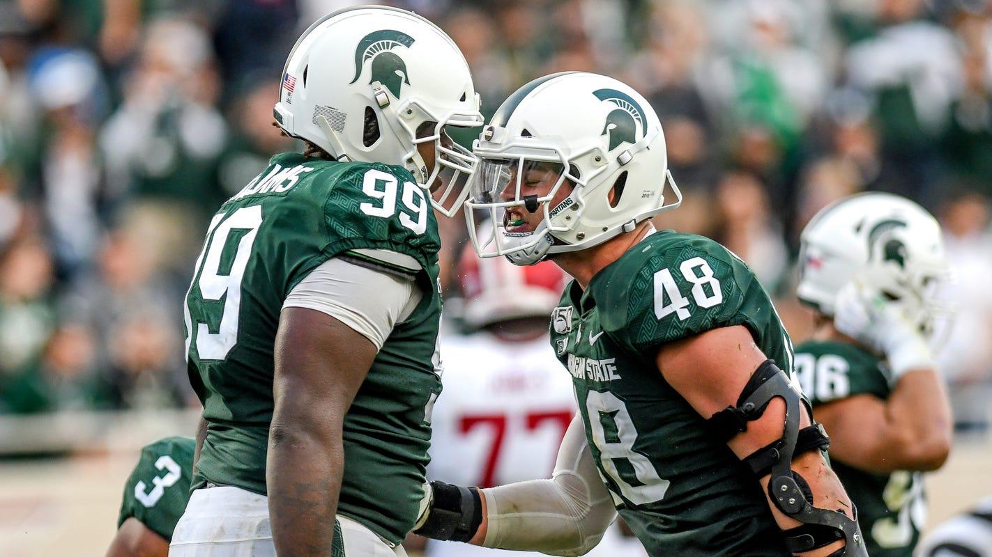 Kenny Willekes, Michigan State football seniors plan to ...