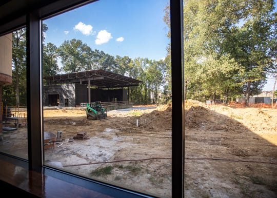 The Grove, the outdoor venue at the Germantown Performing Arts Center, is expected to be finished this winter and opened to the public in early spring.