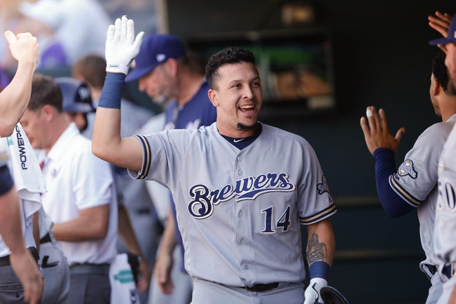 Utility man Hernan Perez had been third in seniority on the Brewers roster.