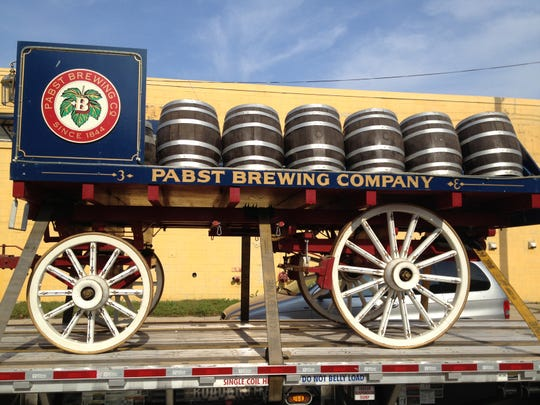 A restored vintage Pabst beer wagon will be part of Pabst Brewery's Oktoberfest festivities Saturday.