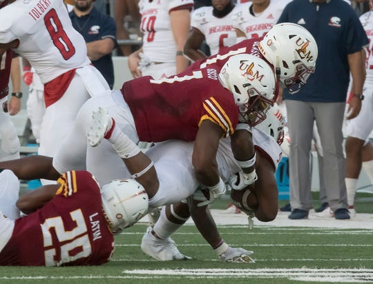ULM rose to the occasion and beat South Alabama 30-17 on Saturday at JPS Field at Malone Stadium. Head coach Matt Viator said Memphis is the best team the Warhawks have hosted since Baylor in 2012.