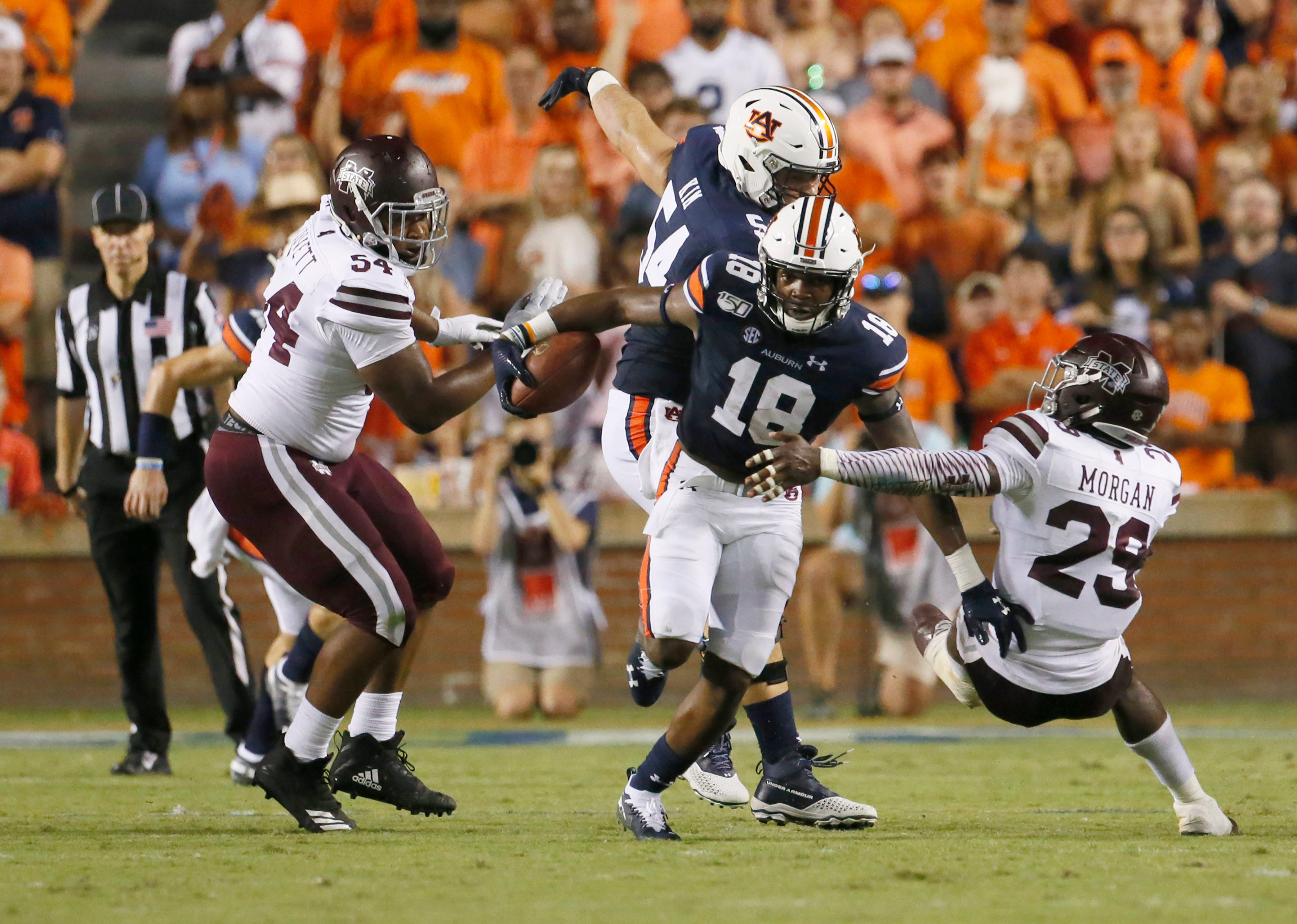 Auburn football game at Mississippi State postponed due to COVID-19
