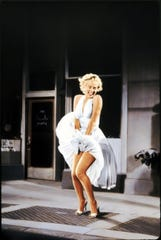 """Marilyn Monroe is shown in a scene from """"The Seven Year Itch.""""  (Gannett News Service)"""