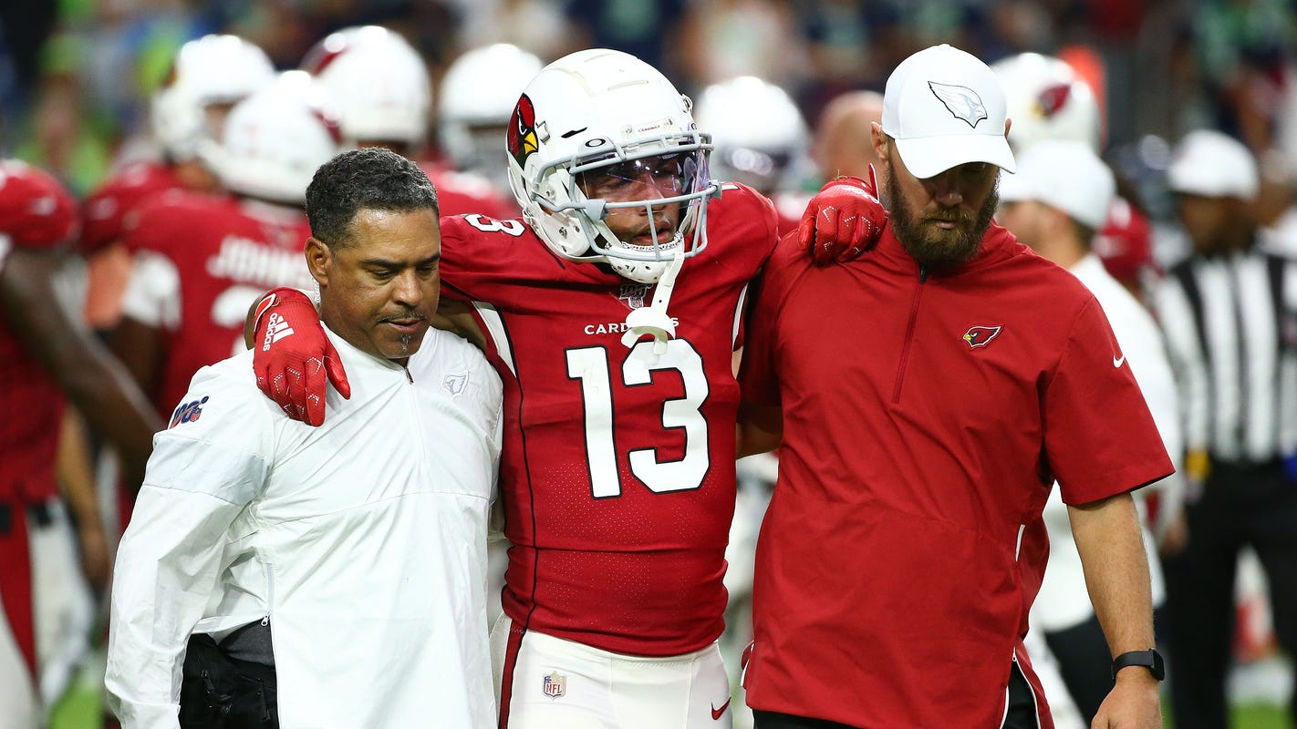 Arizona Cardinals keep quiet on injuries to Christian Kirk's ankle, Zach Allen's shoulder
