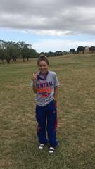 San Angelo Central High School's Cierra Knott won first at the Abilene Christian University High School Invitational Cross Country Meet Saturday, Sept. 28, 2019, in Abilene, Texas.