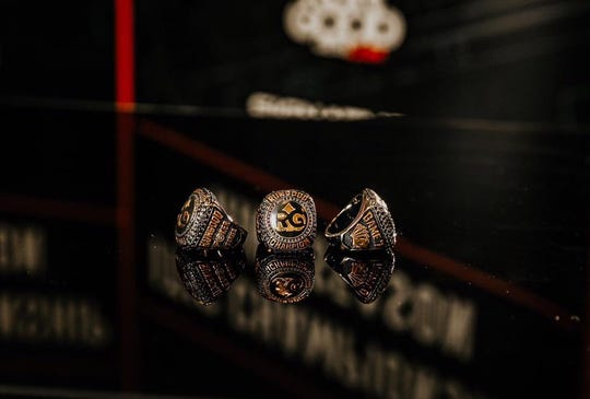 This week's RunGood Poker Series events at the Horseshoe will feature championship rings.