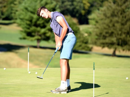 Patrick Smith has made a successful return from an ACL tear and is hoping for a strong finish to his senior golf season.