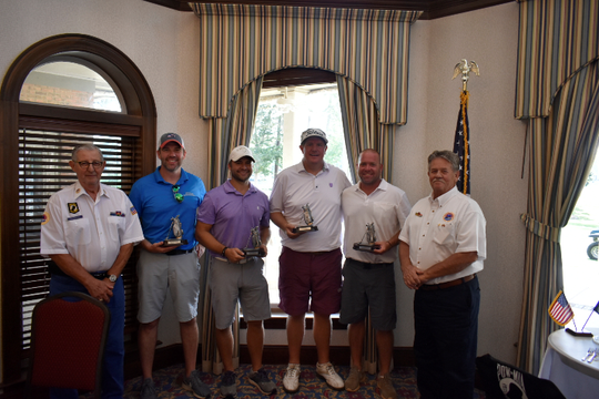 AMVETS Post 1776 sponsored their Annual Golf Tournament at Golden Eagle Golf and Country Club on Sept. 16.