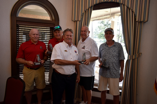 On Sept. 16, AMVETS Post 1776 sponsored their Annual Golf Tournament at Golden Eagle Golf and Country Club.