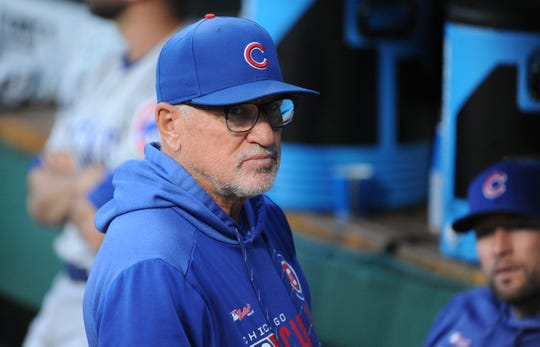 Maddon spent five seasons as the Chicago Cubs' manager.