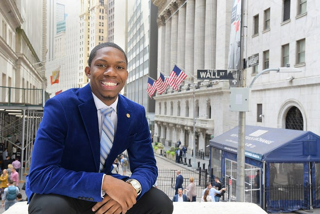 Rider University grad Rahquan King-Stubbs '19 thought he'd fail. Instead, he found himself closer to his dreams.