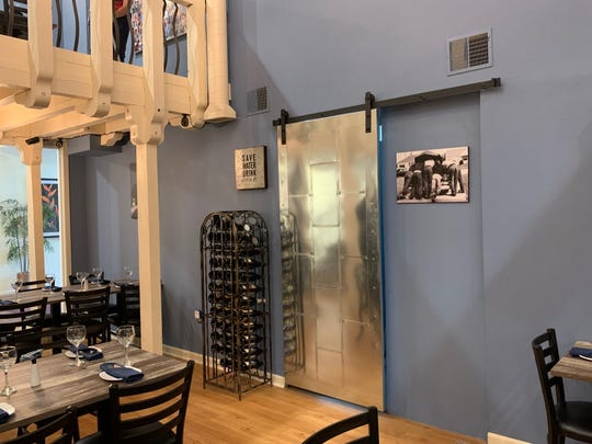 The new multi-level dining experience at Denim BYOB in Haddonfield offers seating for 80 guests.