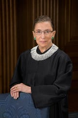 Official Portrait of United States Supreme Court Justice Ruth Joan Bader Ginsburg.