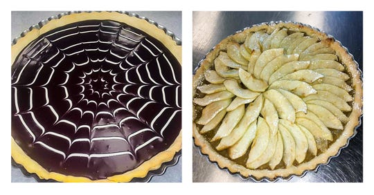 Make a tart for Halloween or just to make the most of autumn's bounty.