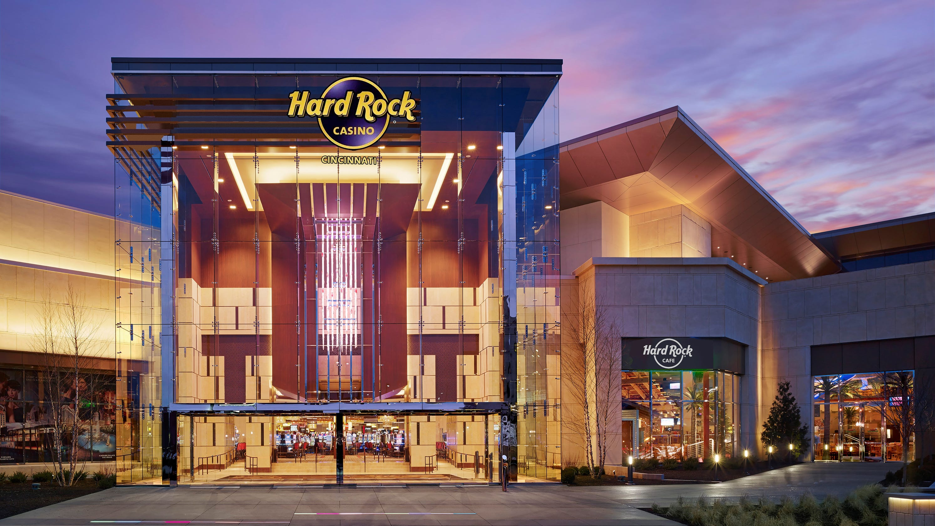 The makeover includes a Hard Rock Café. Later improvements