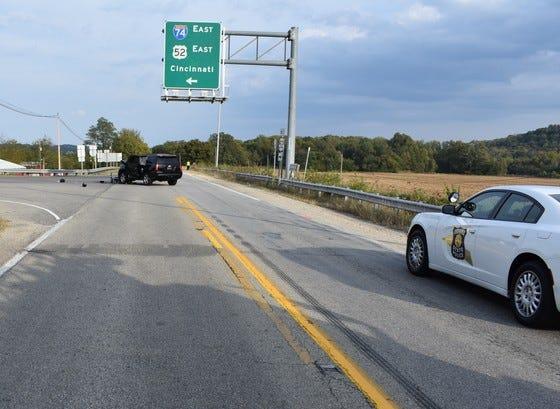 A Cincinnati man was killed in a Dearborn County crash on Saturday.