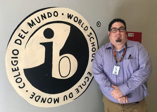 Anthony Fischetti, a teacher of Italian at Linden High School, is the new coordinator for the  International Baccalaureate program, the school's most challenging course of study.
