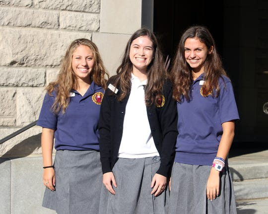 Three National Merit commended students named at Mount Saint Mary Academy. Alexa Mistichelli and Christina Tillinghast of Watchung and Anna Muller of New Providence.