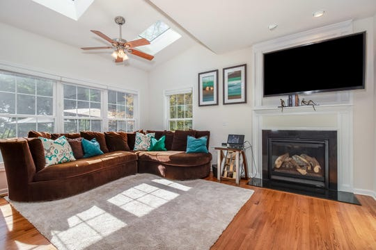 Built eight years ago, a Colonial that offers a private setting that's convenient to commuting options in Readington Township is for sale for $539,900.