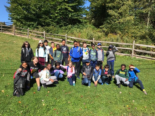 The sixth graders enjoyed amazing weather and many bonding opportunities during their four days in Frost Valley.