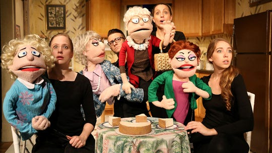 """That Golden Girls Show: A Puppet Parody"" will be at Aronoff Center for the Arts this weekend."