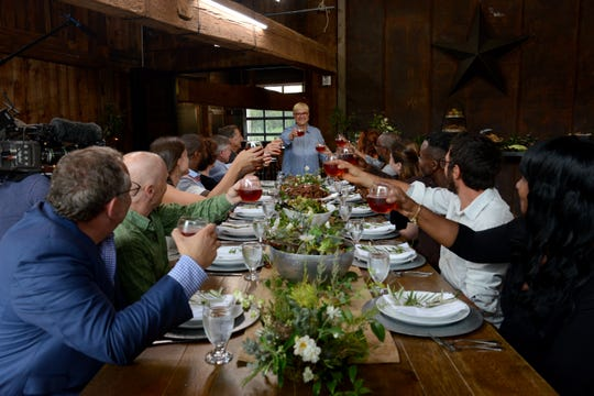 """Lidia Bastianich chose Ironbound Farm in Asbury, home of Ironbound Hard Cider, to be featured in her Dec. 15 PBS special """"Lidia Celebrates America: The Return of the Artisans."""""""